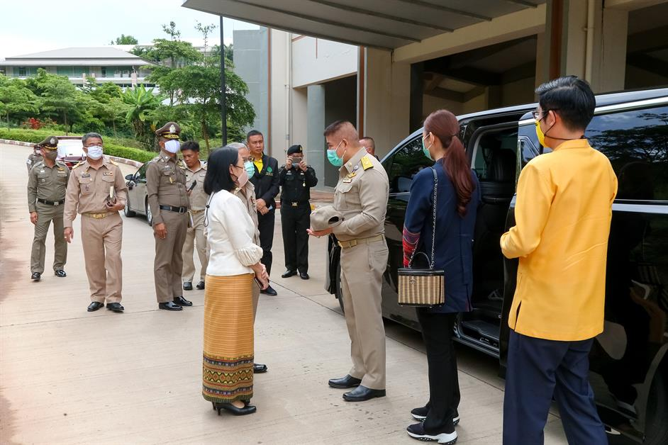 University of Phayao gives a warm welcome to Deputy minister of agriculture and cooperatives