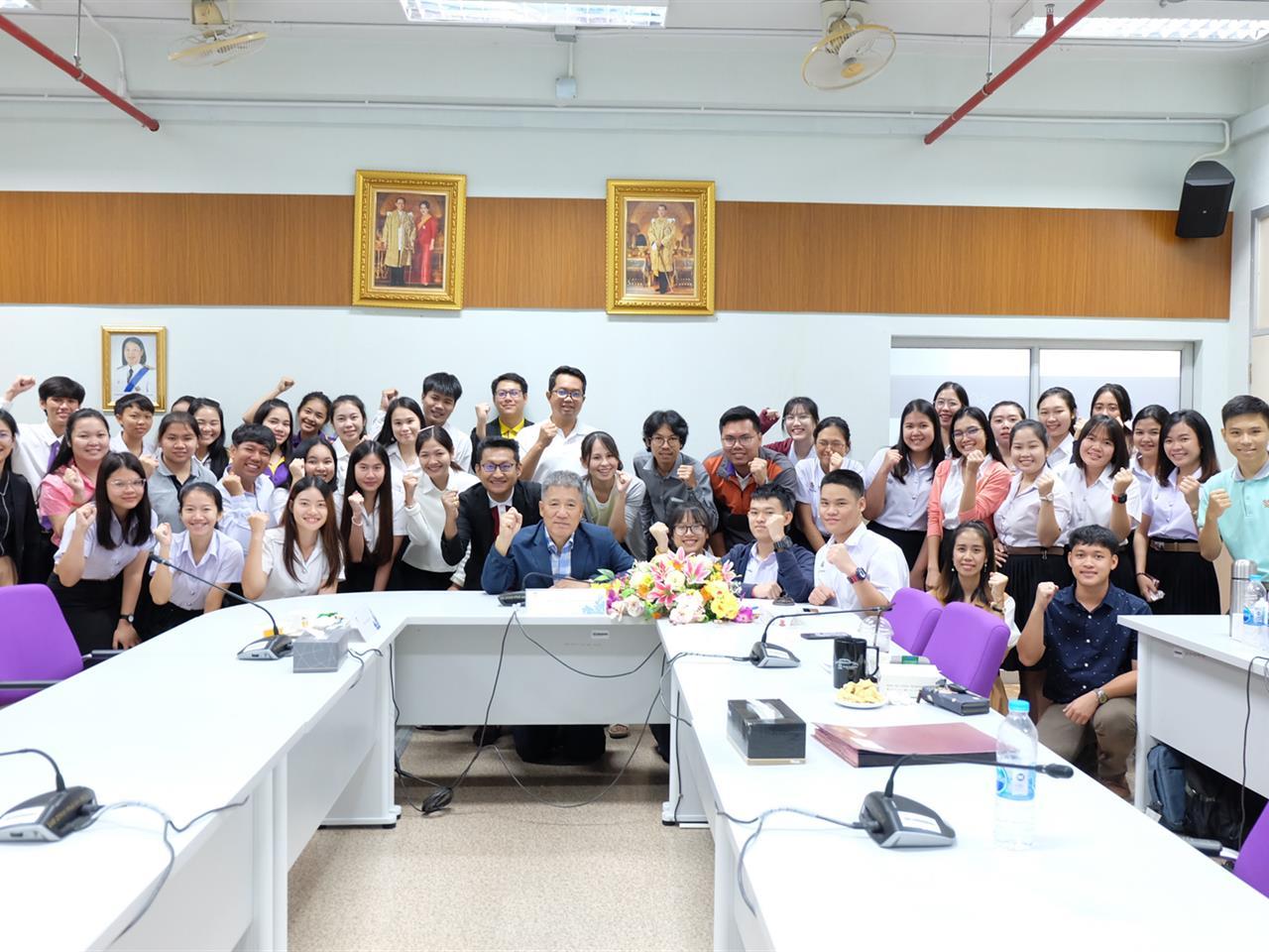 คณะวิทยาศาสตร์ ได้จัดโครงการ Visiting Professor/Researcher ชาวต่างชาติ
