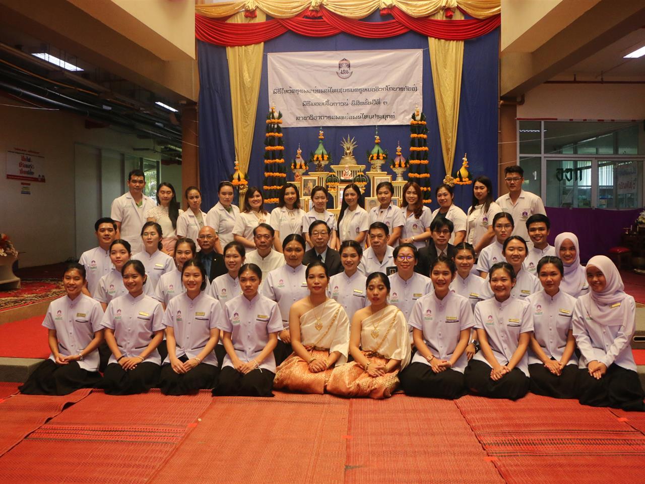 สาขาวิชาการแพทย์แผนไทยประยุกต์ คณะแพทยศาสตร์ มหาวิทยาลัยพะเยา ได้ดำเนินการจัดโครงการไหว้ครูแพทย์แผนไทย