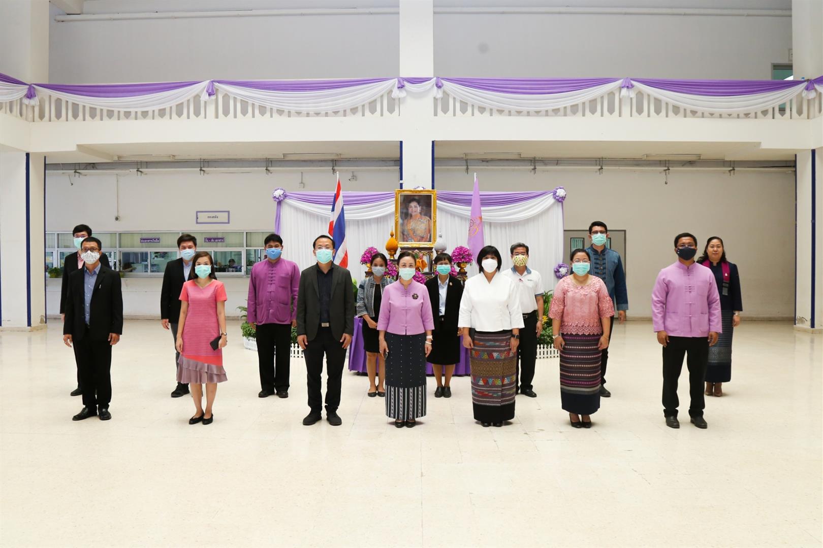 มหาวิทยาลัยพะเยา จัดพิธีลงนามถวายพระพรชัยมงคล สมเด็จพระนางเจ้าฯ พระบรมราชินี เนื่องในโอกาสวันเฉลิมพระชนมพรรษา 3 มิถุนายน2563