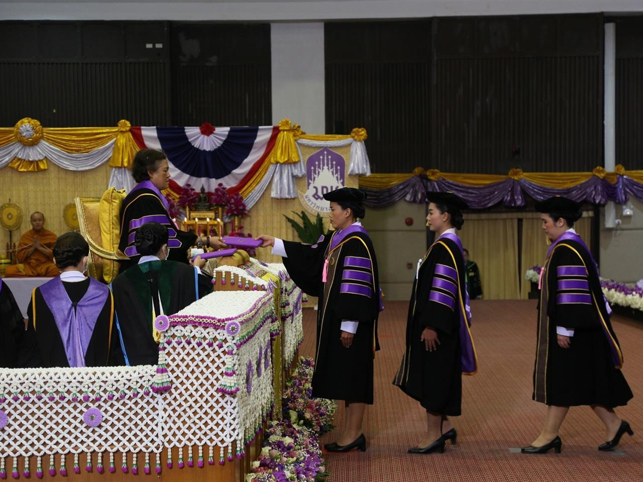 พิธีพระราชทานปริญญาบัตรแก่ผู้สำเร็จการศึกษาจากมหาวิทยาลัยพะเยา ประจำปีการศึกษา ๒๕๖๑  ณ หอประชุมพญางำเมือง มหาวิทยาลัยพะเยา