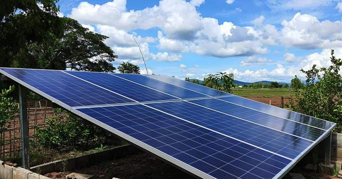 ITAP-UP ร่วมกับนักวิจัยจาก SEEN-UP เร่งช่วยเกษตรกรแก้ปัญหาภัยแล้ง โดยประยุกต์ใช้พลังงานทดแทนจากแสงอาทิตย์
