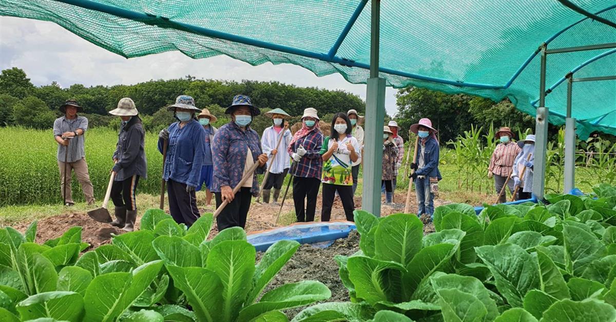 """คณะเกษตรศาสตร์และทรัพยากรธรรมชาติ มหาวิทยาลัยพะเยา จัดโครงการ """"ยกระดับเศรษฐกิจและสังคม รายตำบลแบบบูรณาการ (1 ตำบล 1 มหาวิทยาลัย)"""" ณ ตำบลบ้านเหล่า อำเภอแม่ใจ จังหวัดพะเยา"""