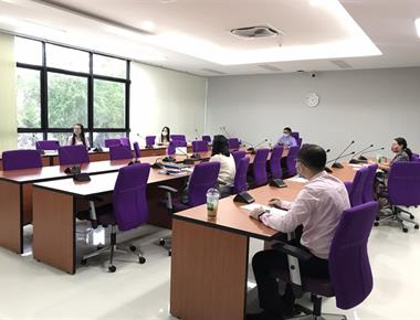 การประชุมคณะกรรมการประจำมหาวิทยาลัยพะเยา วิทยาเขตเชียงราย ครั้งที่ 8(5/2563)