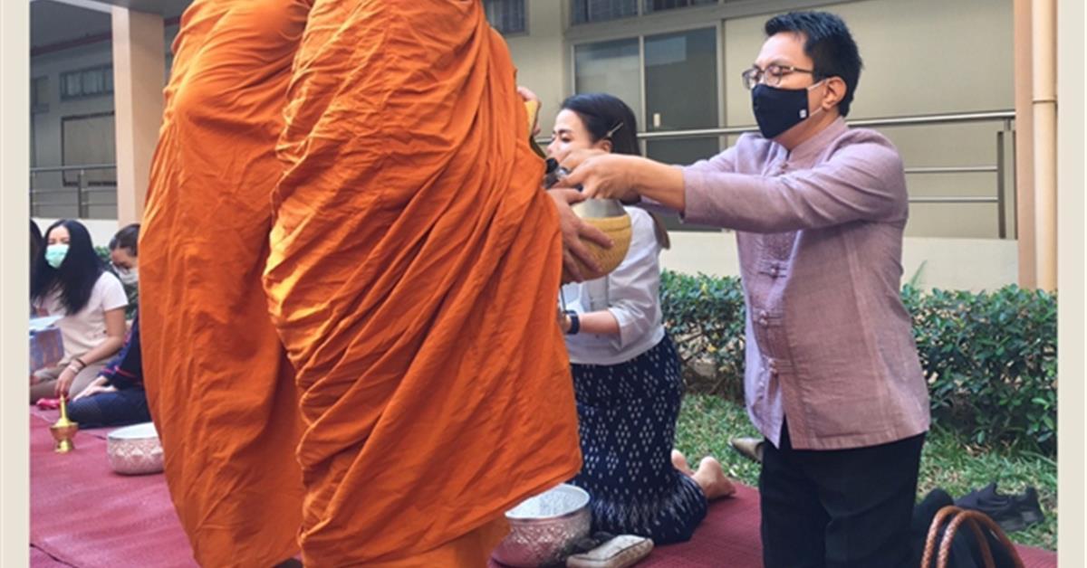 คณะเภสัชศาสตร์ มหาวิทยาลัยพะเยา สุรศักดิ์ เสาแก้ว ผ้าไทยพื้นถิ่น อนุรักษ์ภูมิปัญญาไทย