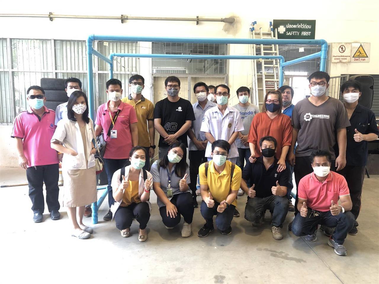 วิศวะฯ มพ. แหล่งเรียนรู้เพื่อชุมชน ร่วมต้านภัย COVID-19
