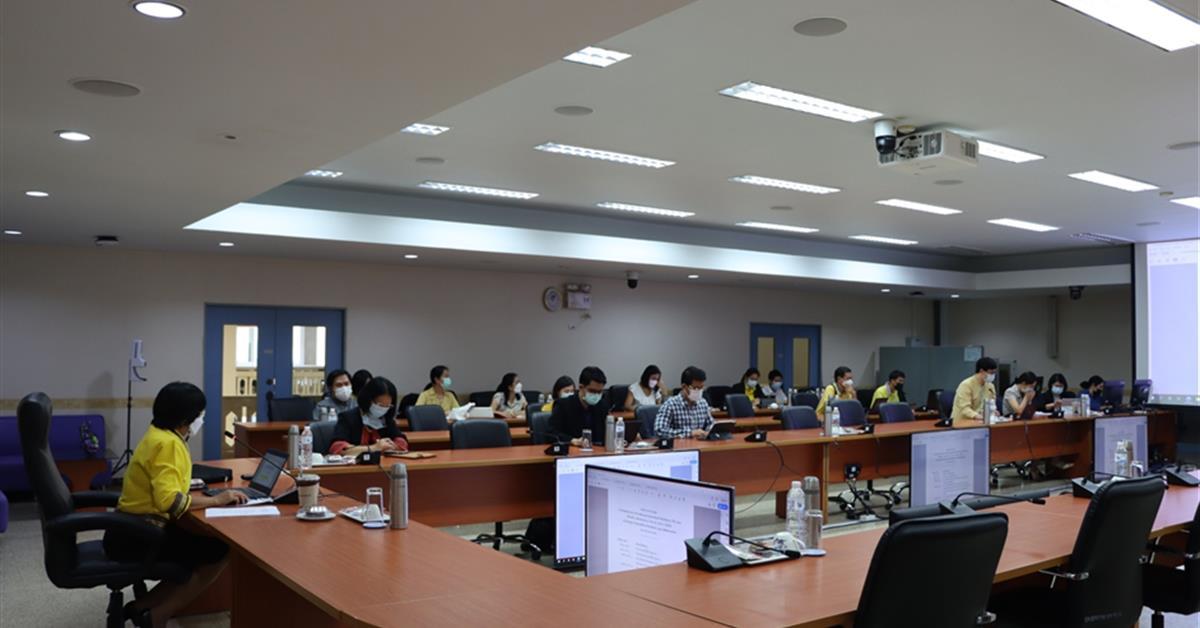 ประชุมคณะกรรมการบริหารพัฒนาคุณภาพองค์กรของมหาวิทยาลัยพะเยา