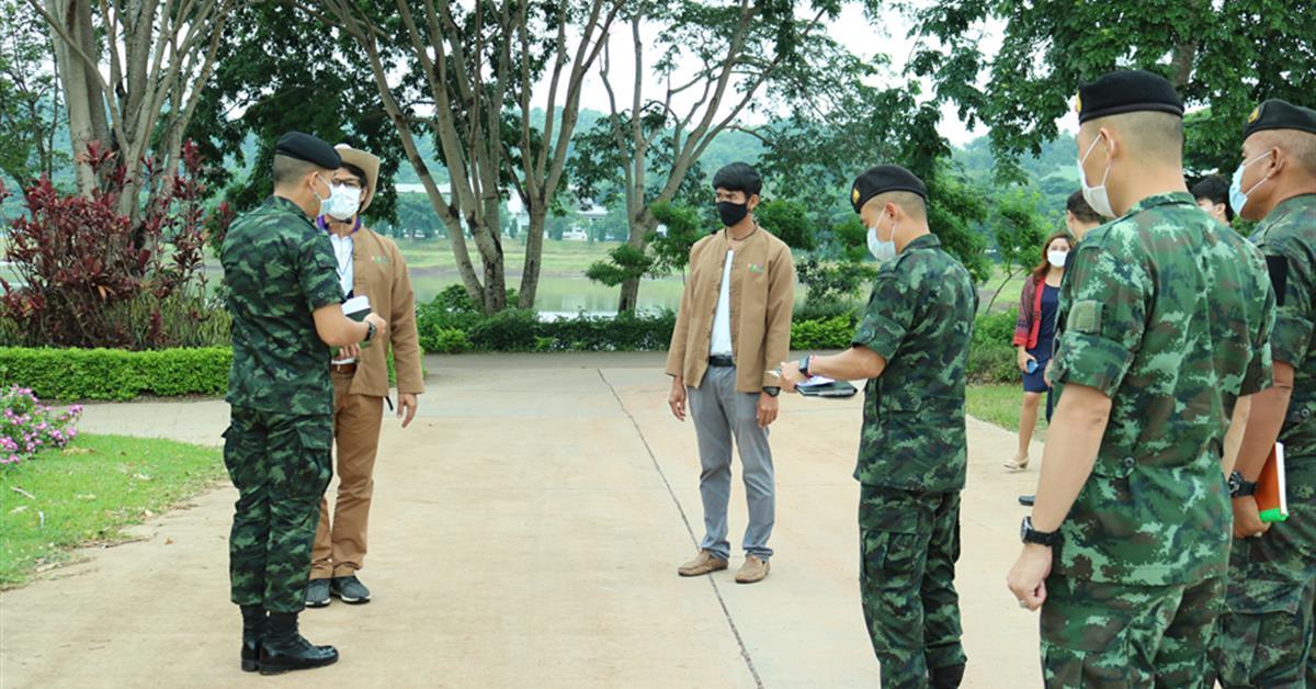 คณะเกษตรศาสตร์ ต้อนรับกำลังพลศึกษาดูงาน กรมทหารราบที่ 17 ศึกษาดูงาน ณ ศูนย์การเรียนรู้เศรษฐกิจพอเพียง มหาวิทยาลัยพะเยา