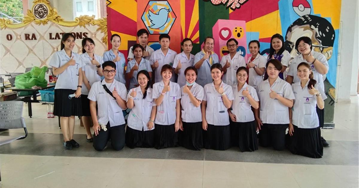 """สาขาวิชาเทคนิคการแพทย์ร่วมกับกลุ่มงานเทคนิคการแพทย์ โรงพยาบาลพะเยา จัดกิจกรรม """"การรับบริจาคโลหิตเนื่องในวันมหิดล 2563"""""""