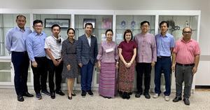 ม.พะเยา หารือ การจัดทำความร่วมมือทางวิชาการกับ บริษัท SMC (Thailand) Ltd.