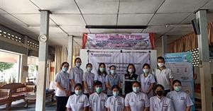 สาขาวิชาการแพทย์แผนไทยประยุกต์ และคณะแพทยศาสตร์ จัดโครงการส่งเสริมการใช้องค์ความรู้ทางด้านศาสตร์การแพทย์แผนไทยให้แก่คนในชุมชน