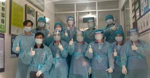 กิจกรรมทำความสะอาดหอพัก นักเรียนโรงเรียนสาธิต ม.พะเยา ตามมาตรการการป้องกันโรคติดเชื้อไวรัสโคโรนา Covid-19 ของมหาวิทยาลัยพะเยา