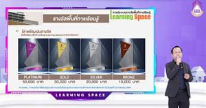 กองบริหารงานวิจัย จัดกิจกรรม Pitching ในการประกวดรางวัลสนับสนุนพื้นที่การเรียนรู้ (Learning Space) ประจำปี พ.ศ. 2564
