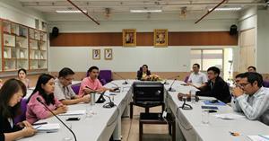 คณะวิทยาศาสตร์ ได้จัดประชุมเตรียมความพร้อมกีฬาบุคลากร มหาวิทยาลัยพะเยาประจำปี 2563 (กลุ่มสีเขียว) ครั้งที่ 1/63