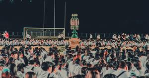 กองกิจการนิสิตจัด พิธีฮับขวัญน้องใหม่ ประจำปีการศึกษา 2563