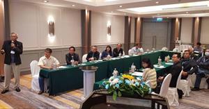 """คณะเกษตรศาสตร์ฯ เข้าร่วมประชุมเพื่อระดมความคิดเห็นในการกำหนดแนวทางการจัดสรรทุนวิจัยโคเนื้อแห่งประเทศไทย """"กลุ่มวิจัยอาหารโคเนื้อ"""""""