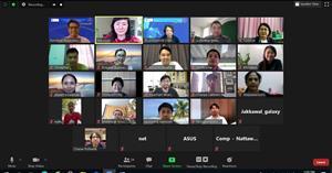 """คณะ ICT จัดอบรมหลักสูตรระยะสั้น (Non-degree) หัวข้อ """"ระบบจัดการเรียนรู้และประเมินผลแบบอัตโนมัติ สำหรับการสอนภาษาโปรแกรมไพทอน"""" ในรูปแบบ Zoom Online"""