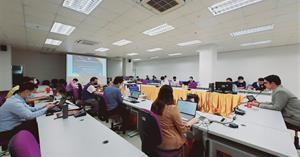คณะ ICT กิจกรรมแลกเปลี่ยนเรียนรู้ (KM) ครั้งที่ 2 รับฟังความคิดเห็น ข้อเสนอแนะ และแลกเปลี่ยนเรียนรู้ในประเด็นต่าง ๆ