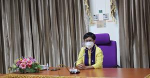 ศูนย์บรรณสารและการเรียนรู้ จัดประชุมเตรียมความพร้อมการเปิดให้บริการช่วงสถานการณ์การแพร่ระบาดของโรคติดเชื้อไวรัสโคโรนา 2019