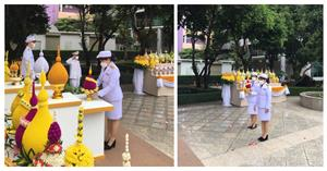 """มหาวิทยาลัยพะเยา เข้าร่วมพิธีวางพานพุ่มถวายราชสักการะ """"พระบิดาแห่งเทคโนโลยีของไทย"""" ประจำปี พ.ศ. 2564  </a><div style="""