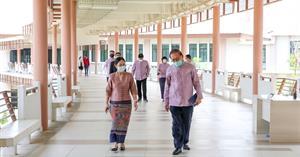 อธิการบดี ม.พะเยา ลงพื้นที่ตรวจเยี่ยมโรงพยาบาลสนามพร้อมประชุมความคืบหน้าของแต่ละฝ่ายในการเตรียมความพร้อมรองรับผู้ป่วย Covid-19 จ.พะเยา  </a><div style=