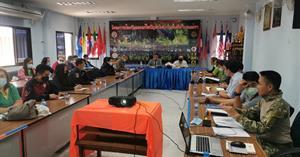 คณะ ICT ม.พะเยา ร่วมประชุมการป้องกันและแก้ไขปัญหาไฟป่าในตำบลแม่กา บูรณาการแก้ไขปัญหาหมอกควันไฟป่า