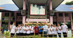 หลักสูตรการแพทย์แผนจีนบัณฑิตคณะสาธารณสุขศาสตร์มหาวิทยาลัยพะเยา ได้จัดโครงการแพทย์จีน มพ สู่ชุมชน ครั้งที่ 1   </a><div style=