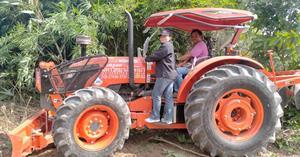 ม.พะเยา เตรียมพื้นที่ สร้างอาคารศูนย์การเรียนรู้นกยูงไทย