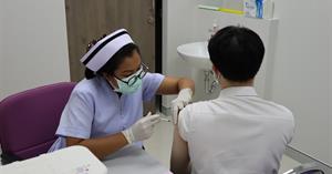 คณะทันตแพทยศาสตร์ มหาวิทยาลัยพะเยา ได้รับการจัดสรรการฉีดวัคซีน Sinovac (ซีโนแวค) เข็มที่ 2