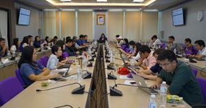 """คณะเทคโนโลยีสารสนเทศและการสื่อสาร มหาวิทยาลัยพะเยา จัดกิจกรรมแลกเปลี่ยนเรียนรู้ ครั้งที่ 1หัวข้อ """"ความก้าวหน้าในการดำเนินงาน ประจำปีงบประมาณ 2564 ของคณะ ICT"""" ร่วมแลกเปลี่ยนเรียนรู้ ในประเด็นที่เกี่ยวข้องกับการบริหารงานระดับคณะและหลักสูตร"""