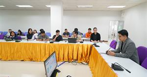 """สาขาวิชาภูมิสารสนเทศศาสตร์ คณะเทคโนโลยีสารสนเทศและการสื่อสาร มหาวิทยาลัยพะเยา เข้าร่วมกิจกรรม """"One Day Sharing UNI Project"""" เพื่อให้นิสิตได้รับความรู้และประสบการณ์ทำงานด้านภูมิสารสนเทศ"""
