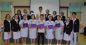คณะพยาบาลศาสตร์จัดพิธีสำเร็จการศึกษาสำหรับผู้เข้าอบรมหลักสูตรประกาศนียบัตรผู้ช่วยพยาบาลรุ่นที่  3 ประจำปีการศึกษา 2562