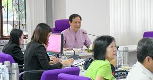 วิทยาลัยการศึกษา มหาวิทยาลัยพะเยา จัดประชุมหารือหลักสูตรระดับปริญญาโท 3 หลักสูตร