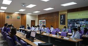 คณะแพทยศาสตร์ มหาวิทยาลัยพะเยา จัดประชุมคณะกรรมการบริหารหลักสูตรแพทยศาสตรบัณฑิต คณะแพทยศาสตร์ ณ ศูนย์แพทยศาสตรศึกษาชั้นคลินิก โรงพยาบาลนครพิงค์