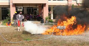 คณะวิทยาศาสตร์การแพทย์ จัดอบรมฝึกซ้อมดับเพลิงและอพยพหนีไฟ การเตรียมความพร้อมรับมือแผ่นดินไหว และการช่วยชีวิตขั้นพื้นฐาน ปี 64  </a><div style=