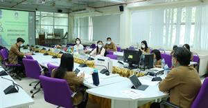 คณะเกษตรศาสตร์และทรัพยากรธรรมชาติ มหาวิทยาลัยพะเยา รับการตรวจประเมินการประกันคุณภาพการศึกษาระดับคณะ ประจำปี 2564 EdPEx