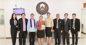 ม.พะเยา หารือ การจัดทำความร่วมมือทางวิชาการกับสำนักงานคณะกรรมการสิทธิมนุษยชนแห่งชาติ