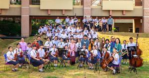 ครั้งแรก กับสุนทรียภาพ เล่นดนตรีในสวน UP GREEN มหาวิทยาลัยพะเยา