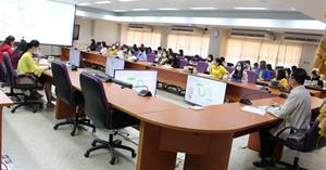 กองคลังดำเนินโครงการอบรมเชิงปฏิบัติการด้านการเงินและการคลัง (KM) ครั้งที่ 1/2564