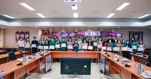 กองแผนงาน มหาวิทยาลัยพะเยา  ประชุมคณะกรรมการ ด้านคุณธรรมและความโปร่งใสในการดำเนินงานของมหาวิทยาลัยพะเยา ครั้งที่ 2 (2/2564)