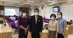ผู้บริหารคณะพยาบาลศาสตร์ เข้าร่วมโครงการปัจฉิมนิเทศน์สำหรับผู้เข้าอบรมหลักสูตรประกาศนียบัตรผู้ช่วยพยาบาล