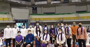 วิทยาลัยการศึกษา ร่วมกิจกรรมตักบาตรน้องใหม่ 11 ปี มหาวิทยาลัยพะเยา