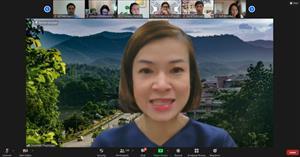 โครงการ AUN QA Overview (Version 4.0) ผ่านสื่ออิเล็กทรอนิกส์ จากระบบ Zoom Cloud Meetings