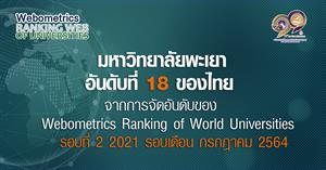 Webometrics Ranking of World Universitie 2021  รอบ 2