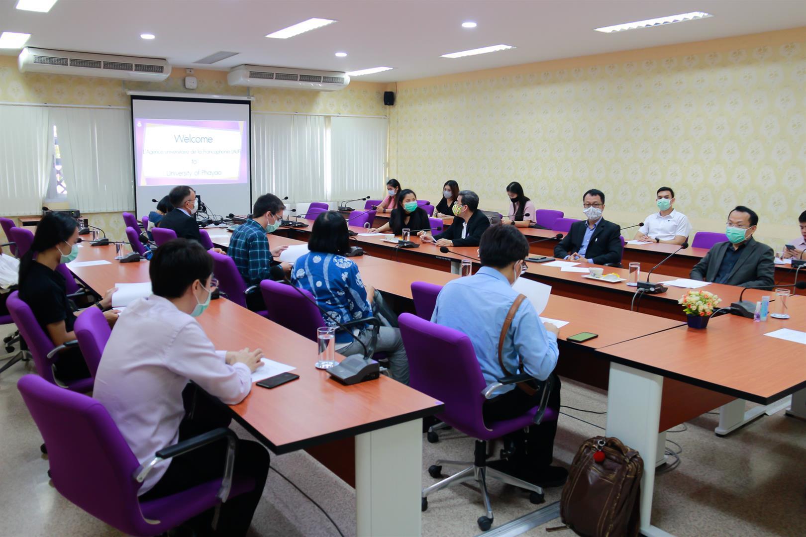 กลุ่ม นักวิจัย ทุน AUF จาก MT.AHS.UP. และ PHPT.AMS.CMU.