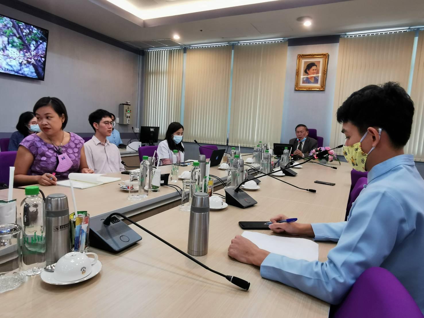 การประชุมเพื่อปรึกษาและพิจารณาการพัฒนาระบบข้อมูลสารสนเทศด้านสุขภาพ