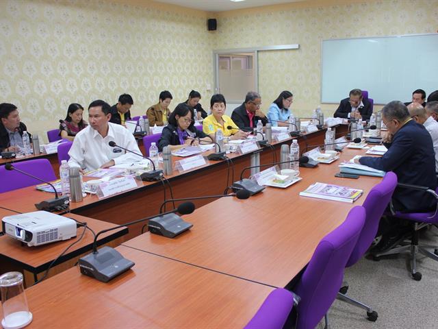 การประชุมคณะกรรมการส่งเสริมกิจการมหาวิทยาลัยพะเยา,ครั้งที่,3/2562,