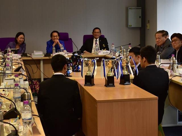 โรงเรียนสาธิตมหาวิทยาลัยพะเยาเข้าร่วมการประชุมสภามหาลัย,ครั้งที่,6/2562