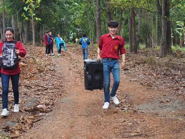 คณะรัฐศาสตร์และสังคมศาสตร์,มหาวิทยาลัยพะเยา,จัดโครงการบวชต้นไม้,เพื่ออนุรักษ์ป่า,อนุรักษ์น้ำ,:,จากแรงศรัทธาสู่การบวชป่าชุมชน