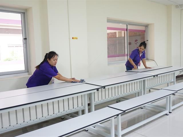 ศูนย์บรรณสารและสื่อการศึกษา,จัดกิจกรรม,Big,Cleaning,Day,และกิจกรรม,7,ส.,เตรียมความพร้อมเข้ารับการตรวจประเมินสำนักงานสีเขียว